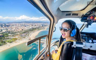 Viajar en Helicóptero en Barcelona (consejos locales)